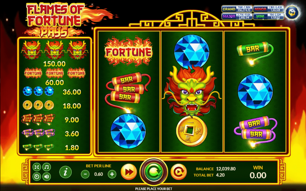 Flames of Fortune Slot